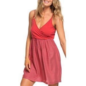 Roxy American Beauty spaghetti strap dress